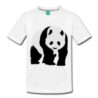 Panda Toddler Premium T-Shirt $19.99