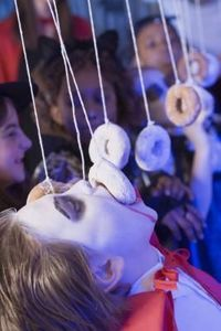 Halloween is the one holiday that makes almost everyone feel like a child again. Whether you are throwing a party for children or for adults, plan at least a fe