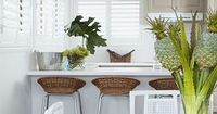 Check out some of the simple choices that make this beach house kitchen beautiful!