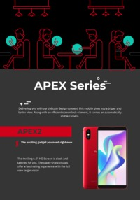 Check out the remarkable Oale Mobile Apex Series that offer the best camera quality, a trendy design and many other advanced features.
