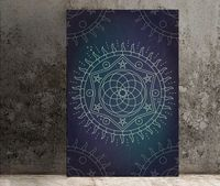 Sun and Star Alchemy Poster (No Frame) $20.00