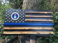 19x36 Air Force thin blue line $110.00