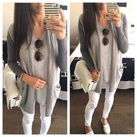 waterfall cardigan outfit