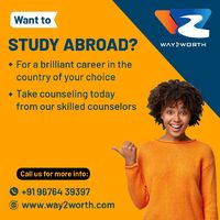 Study in Abroad and choose between leading institutions in Melbourne, Sydney and Perth. it's a tremendous country for international students who want to experience its tertiary education system. you'll pursue your education or masters in Abroa...