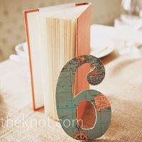 Mapped table numbers.