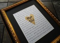 Say a big thank you to your parents on your wedding day with these 13 super sweet gift ideas...