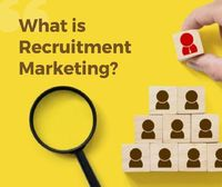 Recruitment Marketing is defined as a process or a inhouse strategy and techniques to promote the open position and benefits and value of work.
