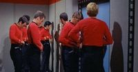 Red shirts! (I'm not even a big Star Trek fan and this made me literally LOL!)