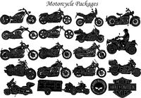 Motorcycle and Chopper Bike Just for: $75.00