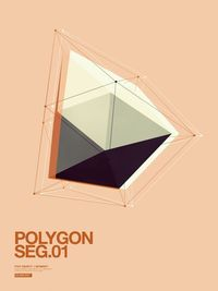 Polygon by Jean-Michel Verbeeck, via Behance