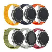 20/22 mm Nylon Loop Watch Strap for Samsung Gear S3 Classic/ Frontier $15.99