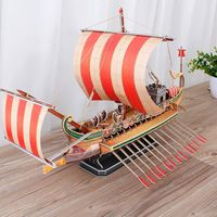 3D Puzzles, Roman Warship Vessel,Sailboat Model Kits,Family Games $59.30