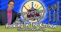 How To Crochet Round Kitchen Scrubby: Double Layered. I love Mikey's tutorials. He shows and explains everything so well. This is a very simple kitchen scrubby.