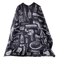 �Ÿ˜�Hairdresser Cape Gown Cloth Black Cutting Hair Waterproof Cloth Salon Barber Gown Cape Hairdressing Hairdresser 120x150cm Scarf�Ÿ˜� $7.10