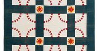 I am the lucky editor who worked with quilt collector, photographer, and historian Bill Volckening to write the patterns for the quilts he chose to feature in M