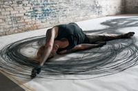 "LA, New Orleans-based Artist Heather Hansen - ""Emptying Gestures is an experiment in kinetic drawing. In this series, I am searching for ways to download my movement directly onto paper, emptying gestures from one form to another and creating somethi..."