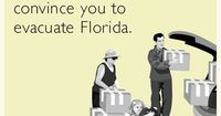 It really shouldn't take a hurricane to convince you to evacuate Florida.