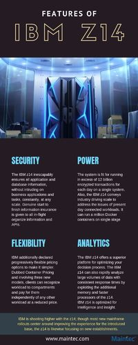 Features of z14 Mainframe: