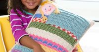 Princess and the Pea Pillow Free Crochet Pattern from Red Heart Yarns