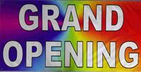 Grand Opening Full Color Banner for Your Business. Professional Grade. $27.00