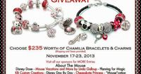 Disney Chamilia Giveaway ~ A $235 Prize Value! ~ WDW Hints