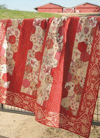 Maison de Garance Quilt Pattern, by French Geenral