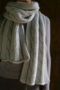Ancient Stitch Scarf | The Purl Bee