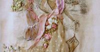 Embellished panel. How delicate and pretty. /keepsakefabrics/crazy-quilt-love/ BACK