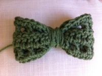 crochet bow varieties love the one witht he lace edging