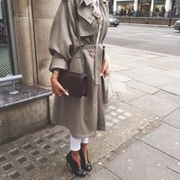 trench jacket outfit