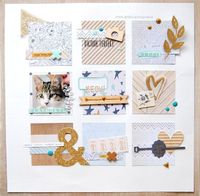 #papercrafting #scrapbook #layout - Playmobil by zinia at