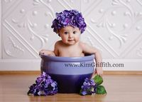 6 month baby picture ideas | Sweet 6 month old Baby Girl | Mechanicsville, MD | Portraits By Kim