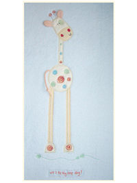 Will I Be Big One Day Bed Fleece Blanket Nursery It was Jack the giraffes first birthday. He woke up that morning, looked up at his Mummy and asked, Will I Be Big One Day?. Lollipop lane embroidered Fleece Blanket. 120 x 150cm suitabl http://www.comparest...