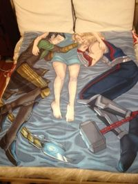 Best Thor and Loki blanket ever! Can buy it here; http://www.etsy.com/listing/112028752/norse-god-blanket?ref=sr gallery 3 search query=thor+and+loki+blanket view type=gallery ship to=US search type=all facet=thor+and+loki+blanket