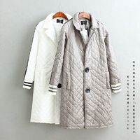 Oversized Student Style Winter Coat Cotten Coat Baseball Jacket - Discount Fashion in beenono
