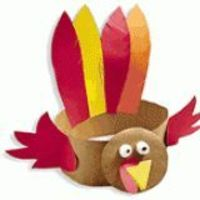 Turkey Hat Thanksgiving Craft for Kids Breaking out the construction paper this weekend. Kyla loves hats, so this is sure to be a hit with her!