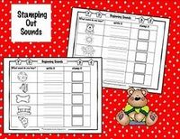 Letter sound stamping worksheets- I like that it combines writing AND stamping!