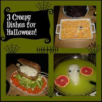 3 creepy ways to turn ordinary party food into #Halloween party food guests will love!