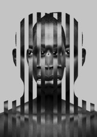 "Mapping 2013 on Behance Use a process like this for ""identity/self-concept"" activity about skin color/shade/tone/palette. Put vertical photo strip of every child together on a couple images to make a collective face."