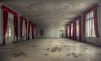 """A London-based photographer documents haunting scenes from abandoned locations �€"""" hospitals, schools, houses, hotels, asylums and more �€"""" and often captures them"""