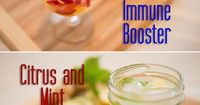 All natural and refreshing infused water recipes.