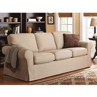 Better Homes and Gardens Slip Cover Sofa, Multiple Colors - Walmart.com