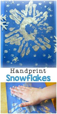 Handprint crafts are always some of the cutest crafts to make with your kids. They're fun to look back at when they're older and see those tiny little hands! Th