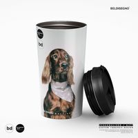 Personalized Stainless Steel Travel Mug - Custom Mug With your photo - Logo - Graphic custom text quote $28.99