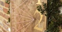 string art seating chart   Candice Patrice Photography   Glamour & Grace