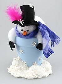 There are so many easy Christmas crafts out there that you can make, especially with clay pots. Christmas clay pot crafts are the way to go this year, you can m
