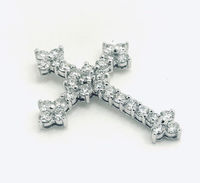 2.0 carats total of natural round brilliant cut diamonds G color SI1 clarity in 14 Karat white gold $1871.00