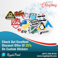 Check Out Excellent Discount Offer Of 25% On Custom Stickers - RegaloPrint.jpg