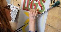 If old school signwriting makes you swoon, you might like to head along to one of these hands-on workshops.