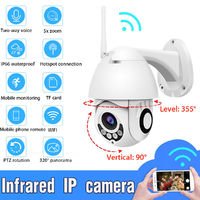 HD 1080P IP Camera Wireless Waterproof WiFi Network Night Vision Security Home Outdoor Indoor
